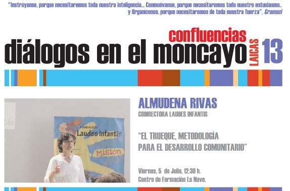 Dialogos del Moncayo Confluencias 2013 Almudena Rivas