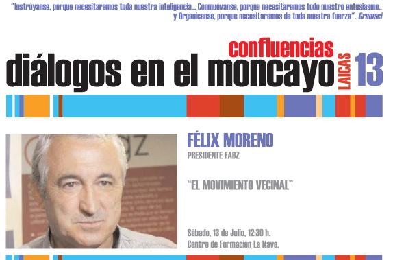 Dialogos del Moncayo Confluencias 2013 Felix Moreno