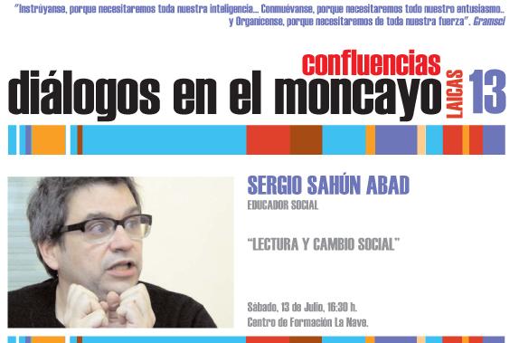 Dialogos del Moncayo Confluencias 2013 Sergio Sahun Abad